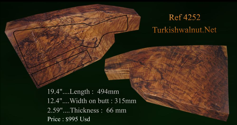 AAAA grade Turkish walnut