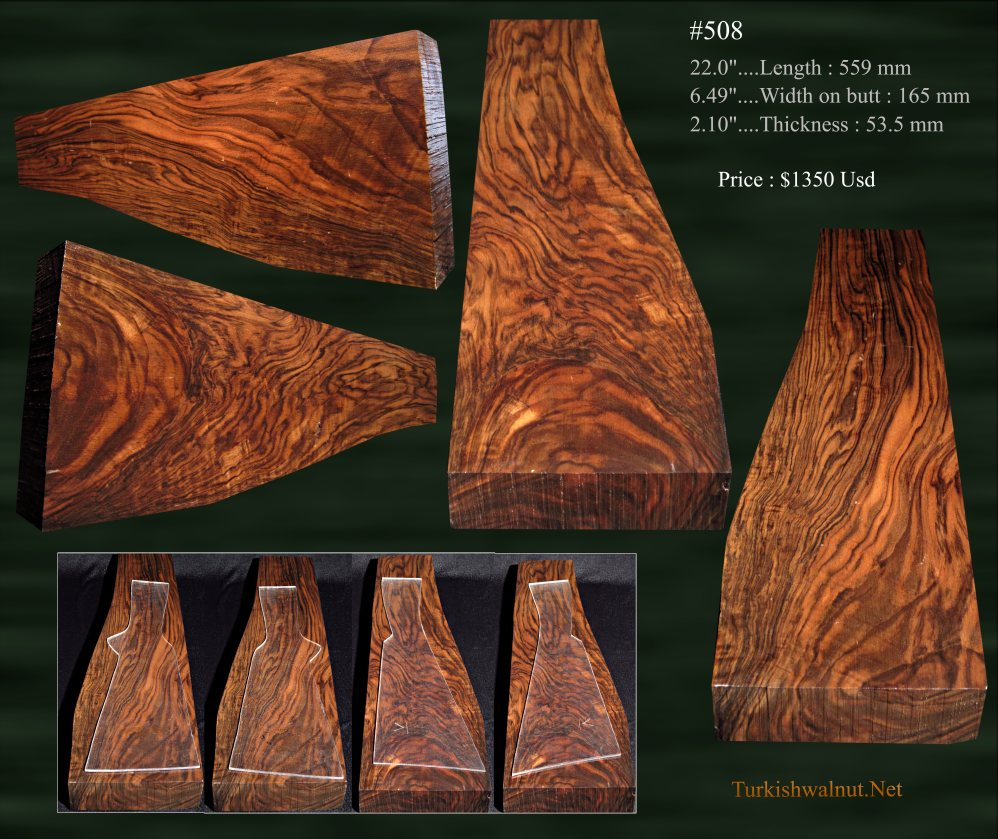 Highly_figured_Turkish_walnut_stock_blank_ou_side_by_side