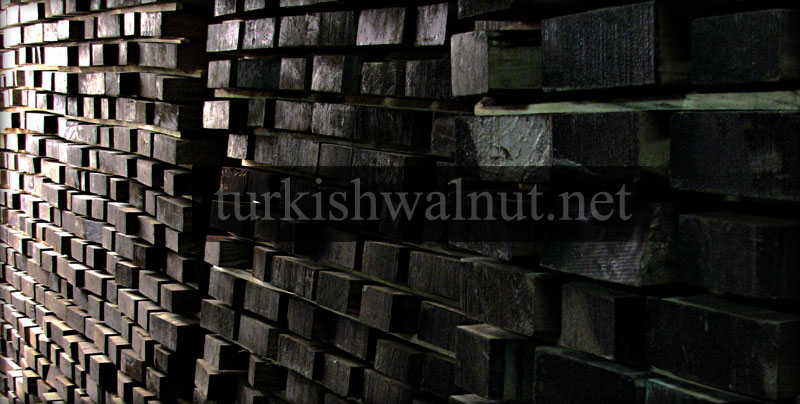 selected turkish  walnut stock blanks