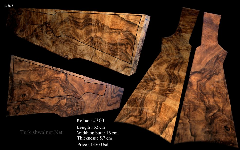 Exhibition grade Turkish walnut